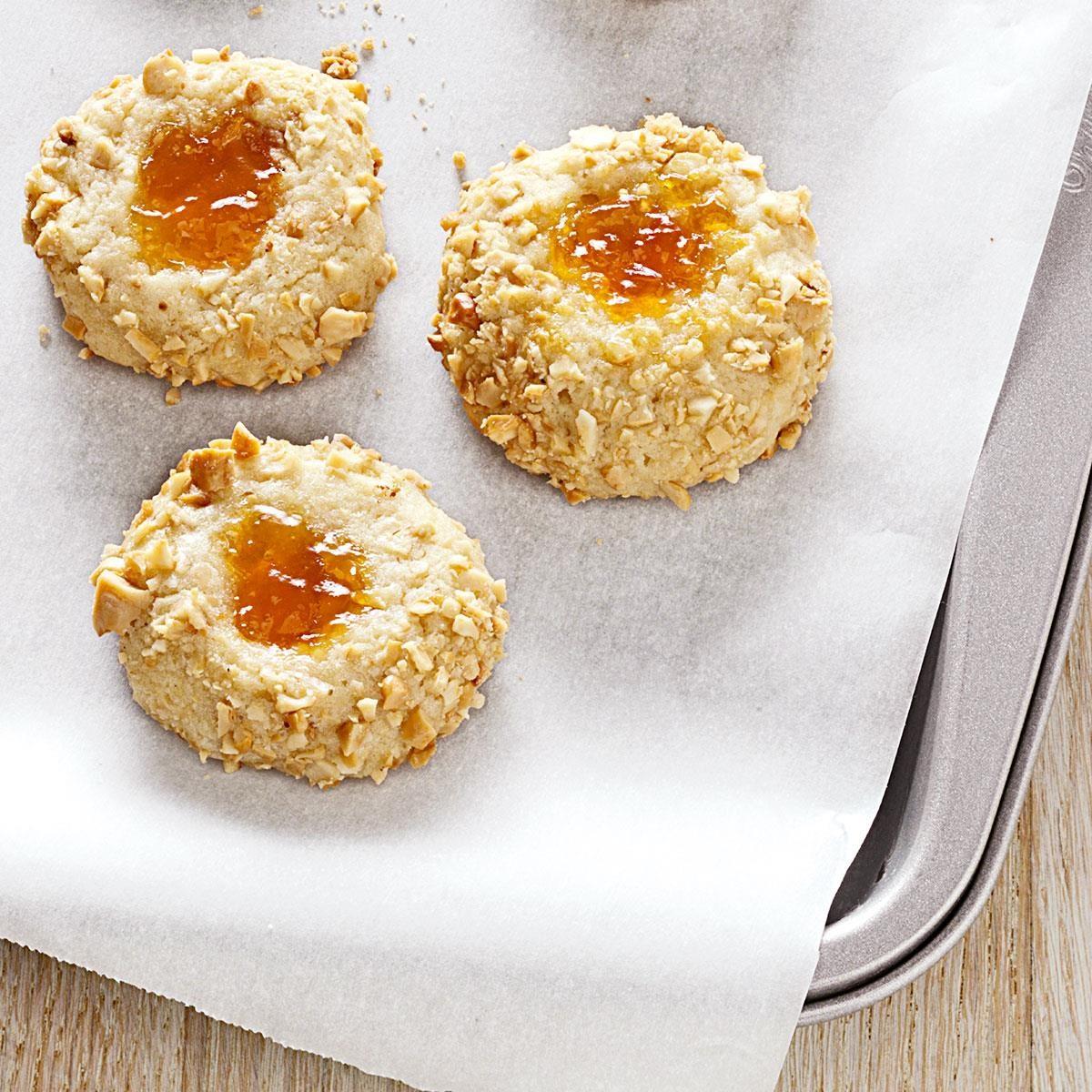 Apricot Thumbprints Recipe | Taste of Home