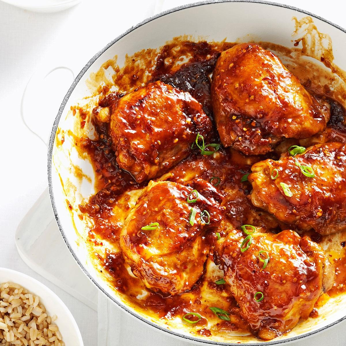 Asian Chicken Thighs Recipe Taste Of Home