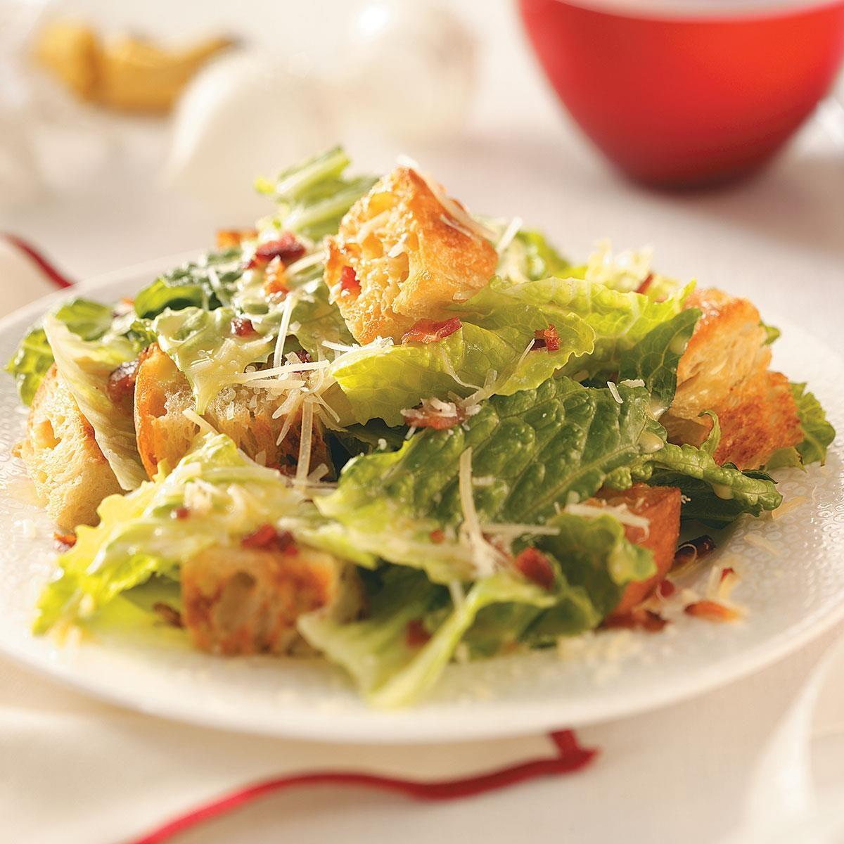 bacon caesar salad recipe taste of home