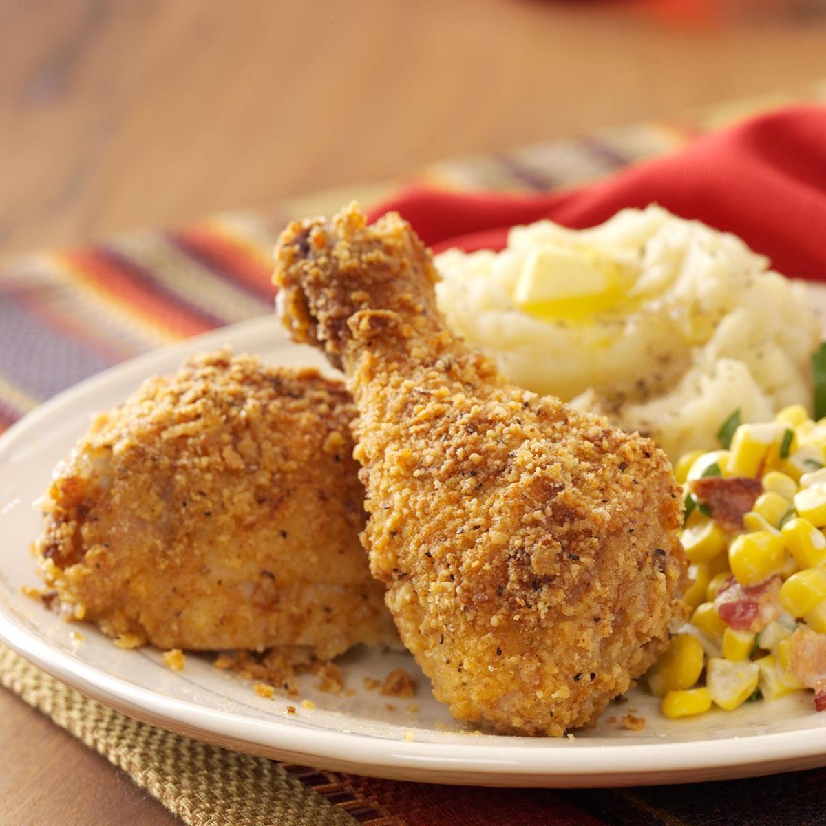 Baked Crunchy Chicken Recipe | Taste of Home