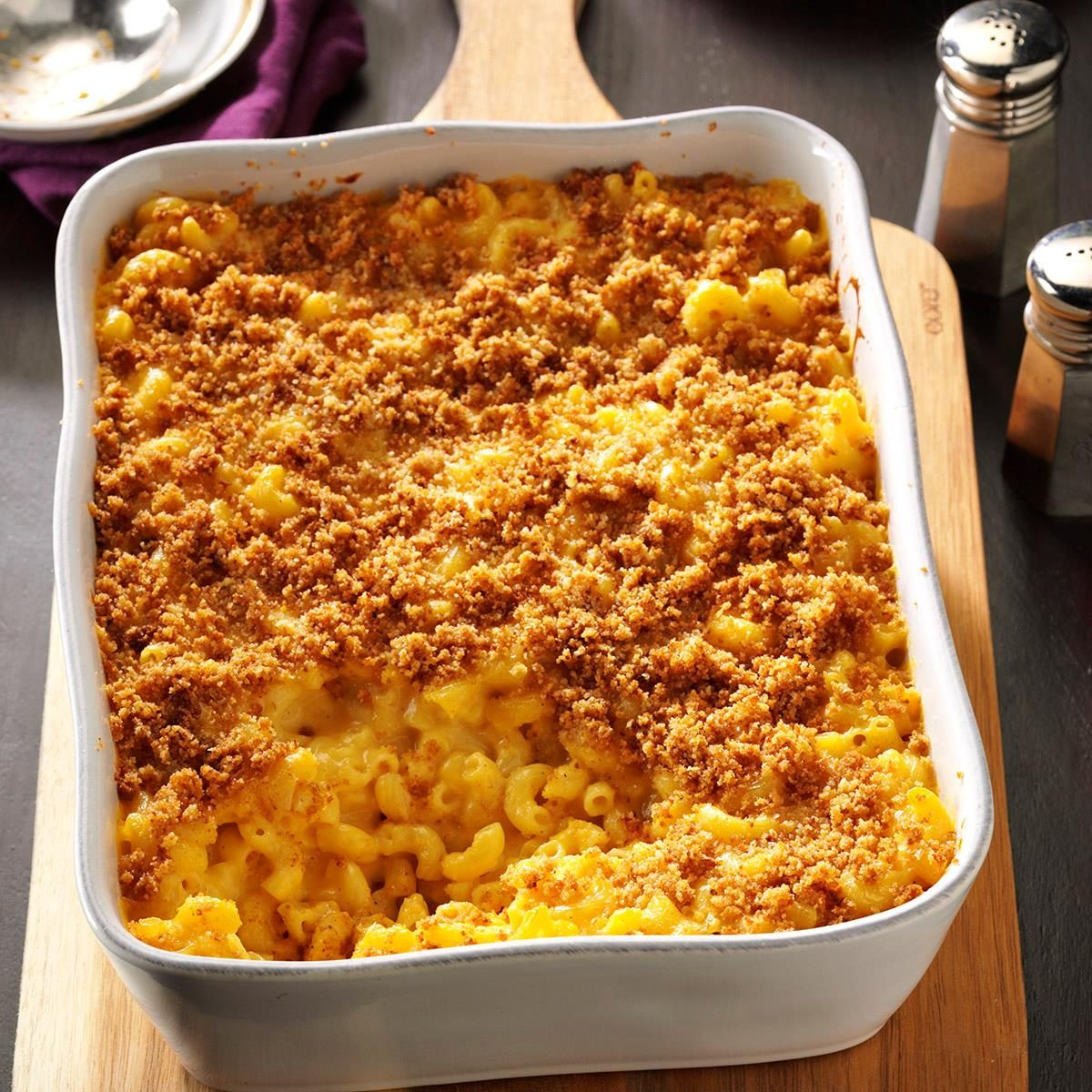 Baked Mac and Cheese Recipe | Taste of Home