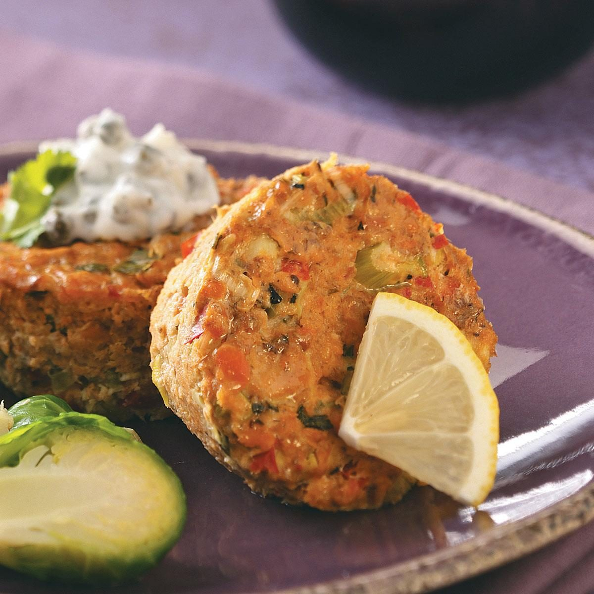 Baked Salmon Cakes From Canned Salmon