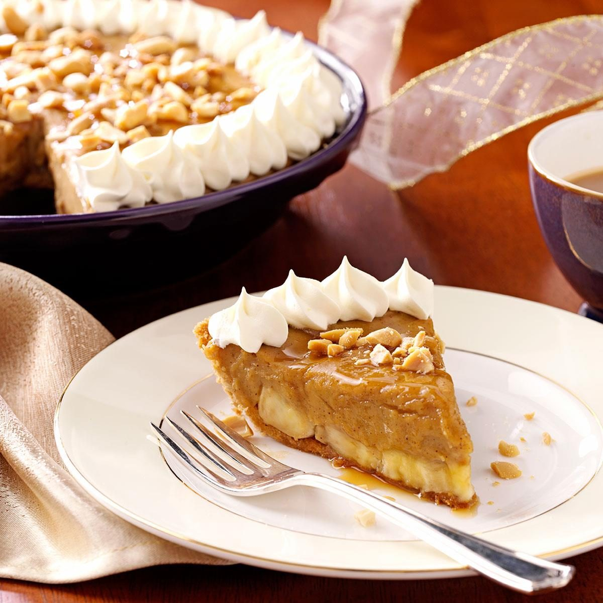 Bananas Foster Pie Recipe | Taste of Home