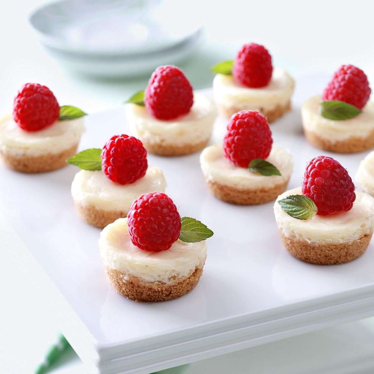 Berry Mini Cheesecakes Recipe