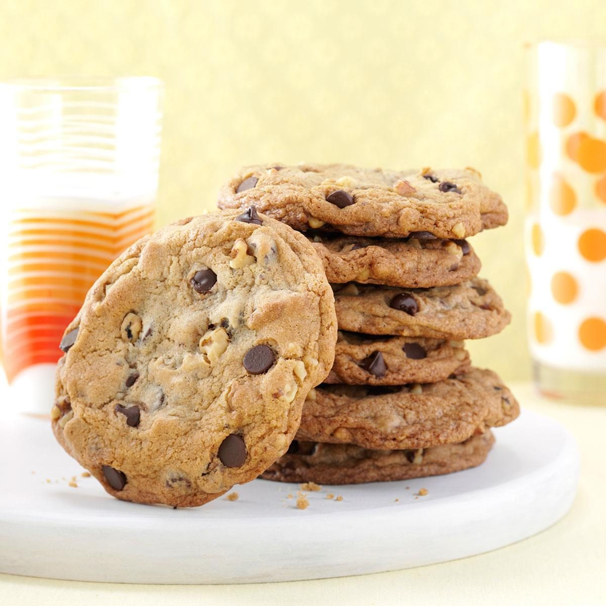 Big & Buttery Chocolate Chip Cookies Recipe | Taste of Home