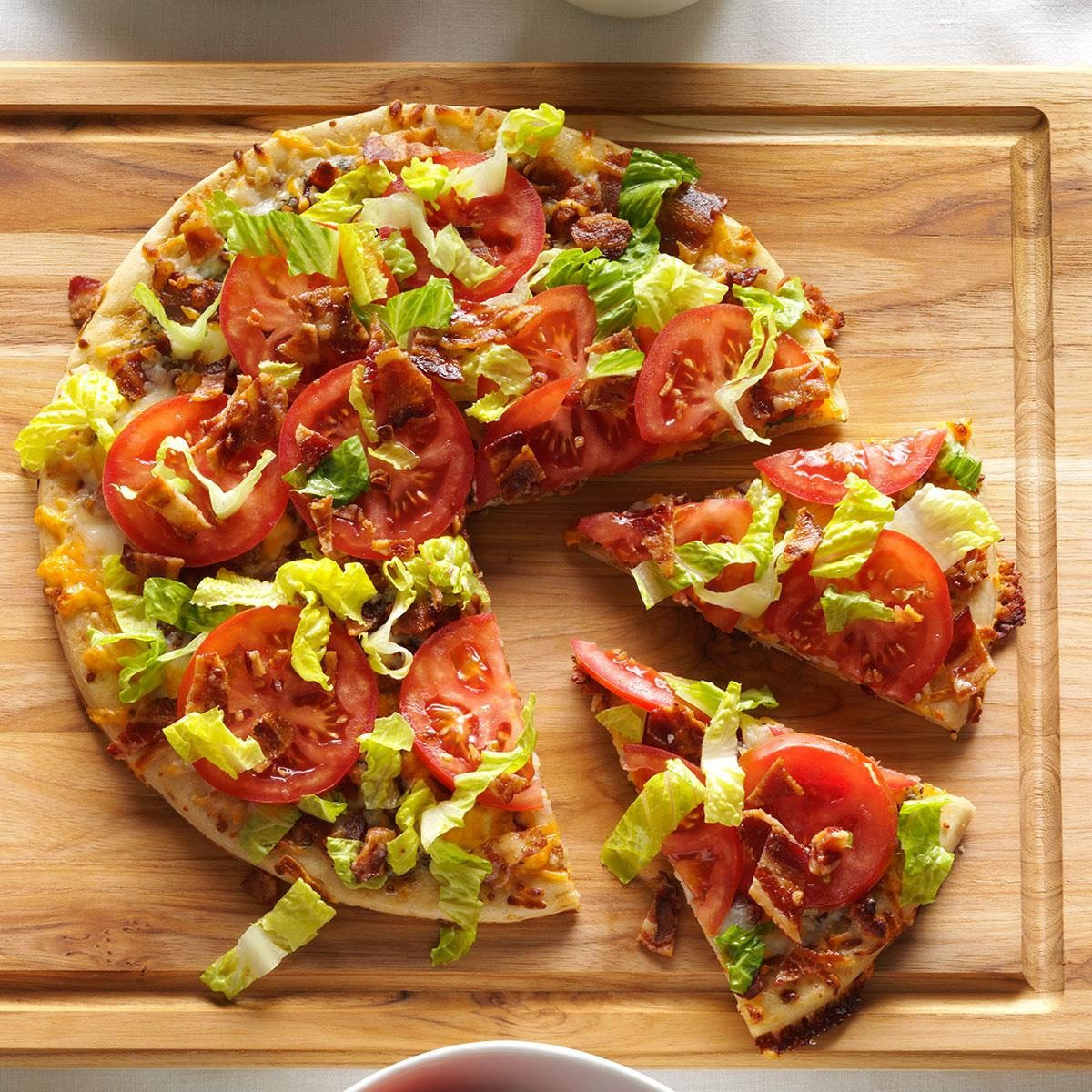 BLT Pizza Recipe | Taste of Home