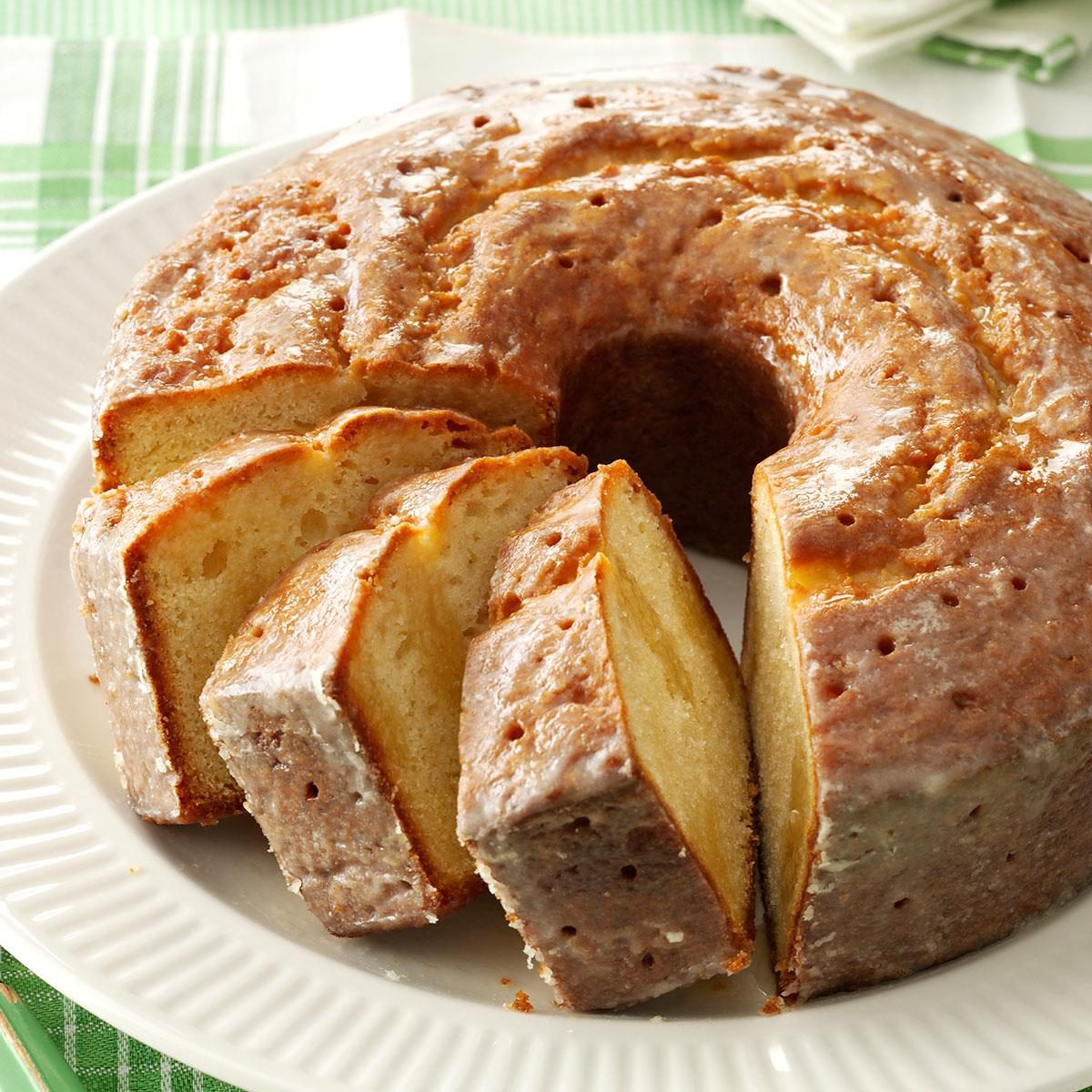 Sourdough Pound Cake Recipe