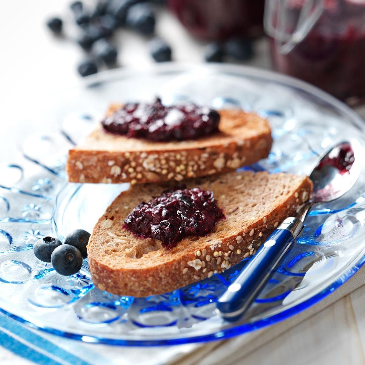 Blueberry Jam Recipe   Taste of Home