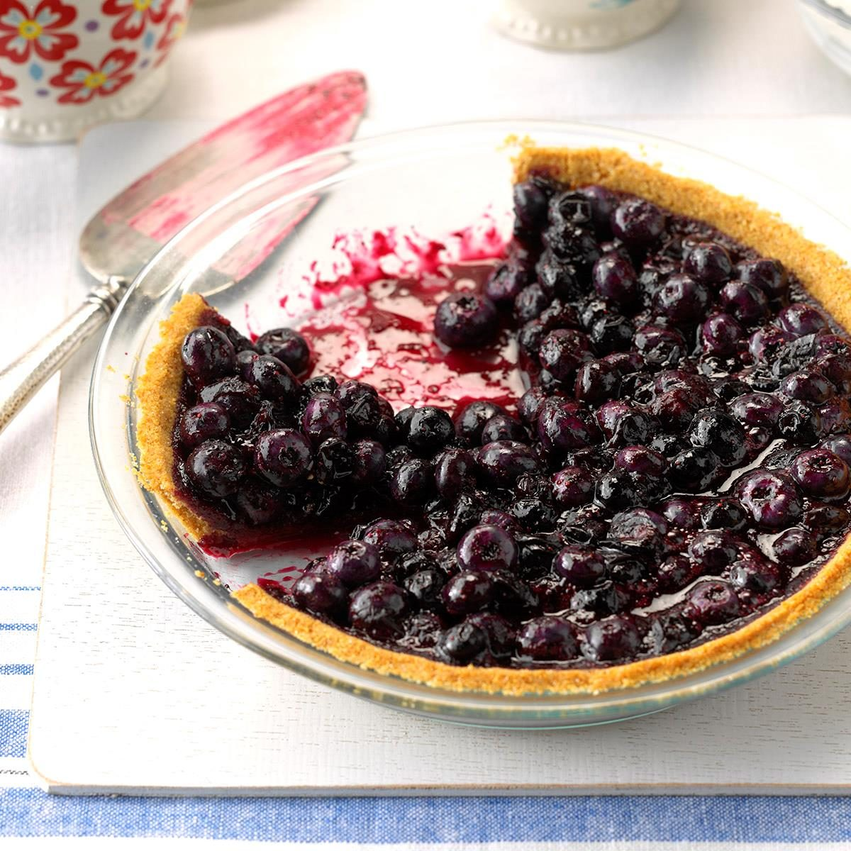 Blueberry Pie With Graham Cracker Crust Recipe