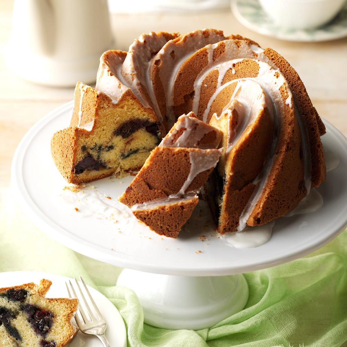 Blueberry Sour Cream Cake Southern Living