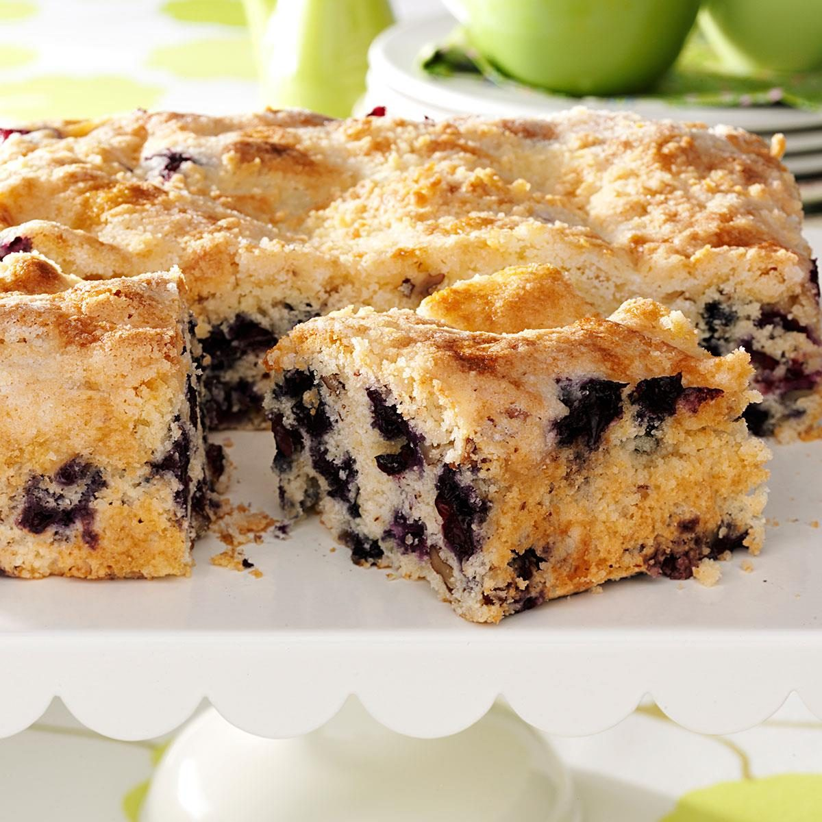 Fruit Streusel Coffee Cake Recipe