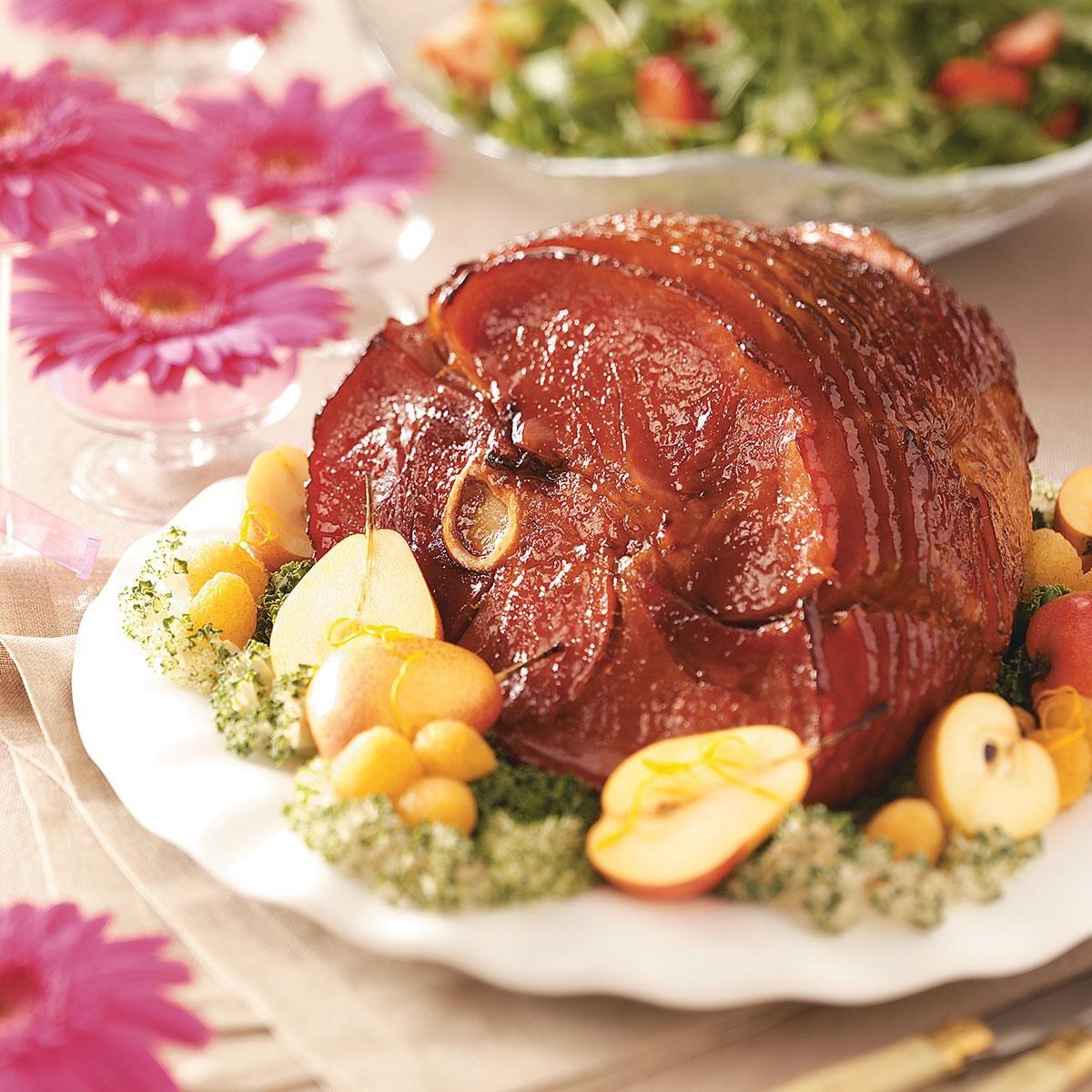 Bourbon Baked Ham Recipe | Taste of Home