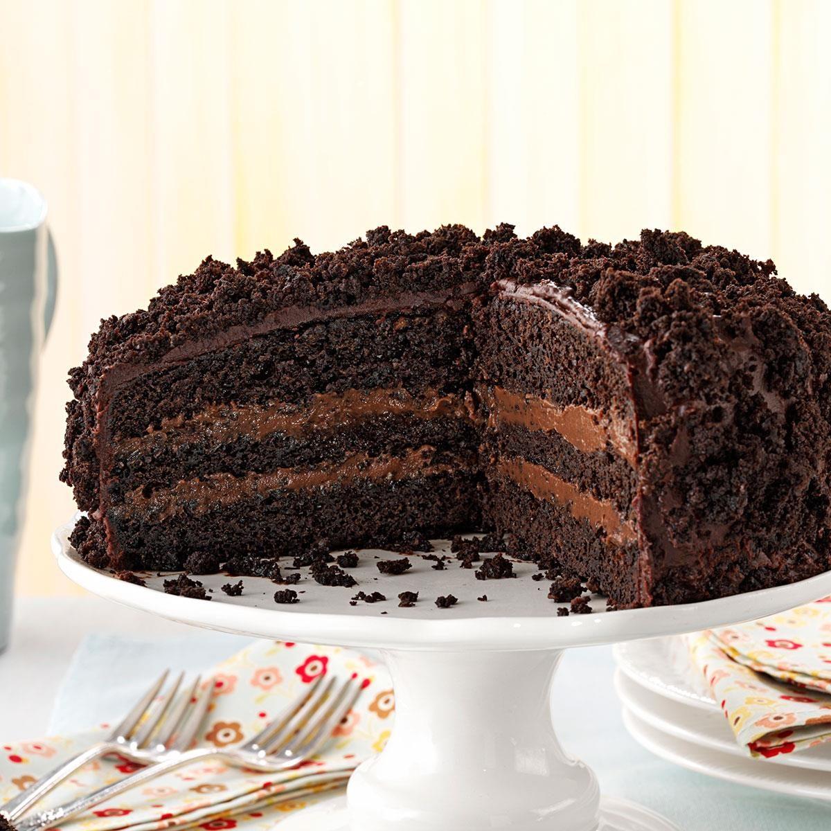 Brooklyn Blackout Cake Recipe | Taste of Home