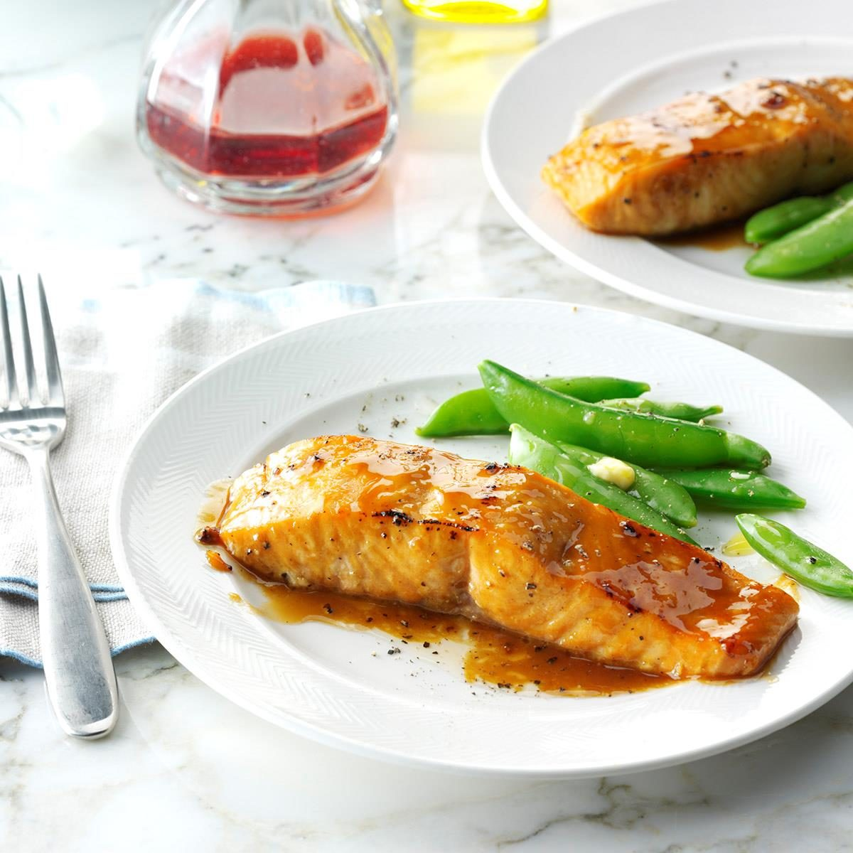 brown sugarglazed salmon recipe taste of home