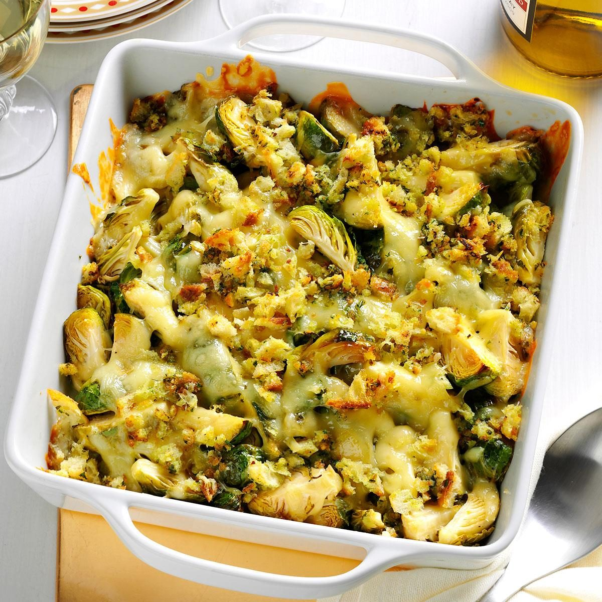 Brussels Sprouts Au Gratin Recipe