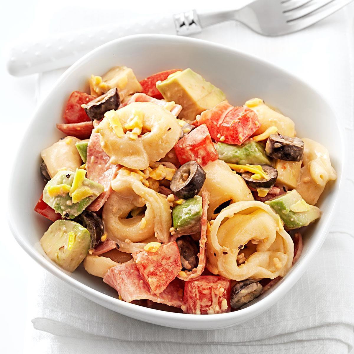 Caesar Tortellini Salad Recipe   Taste of Home