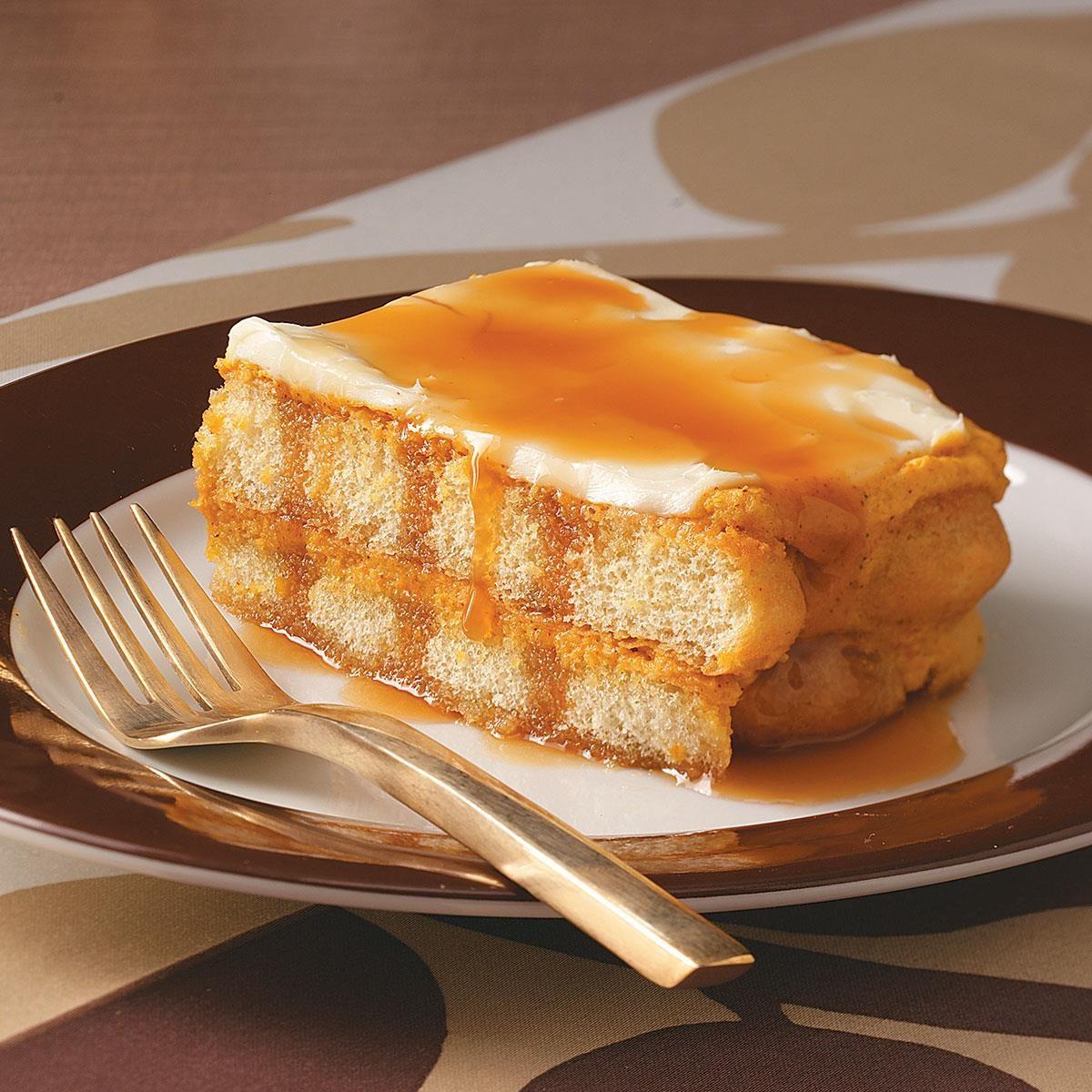 Caramel Pumpkin Tiramisu Recipe | Taste of Home