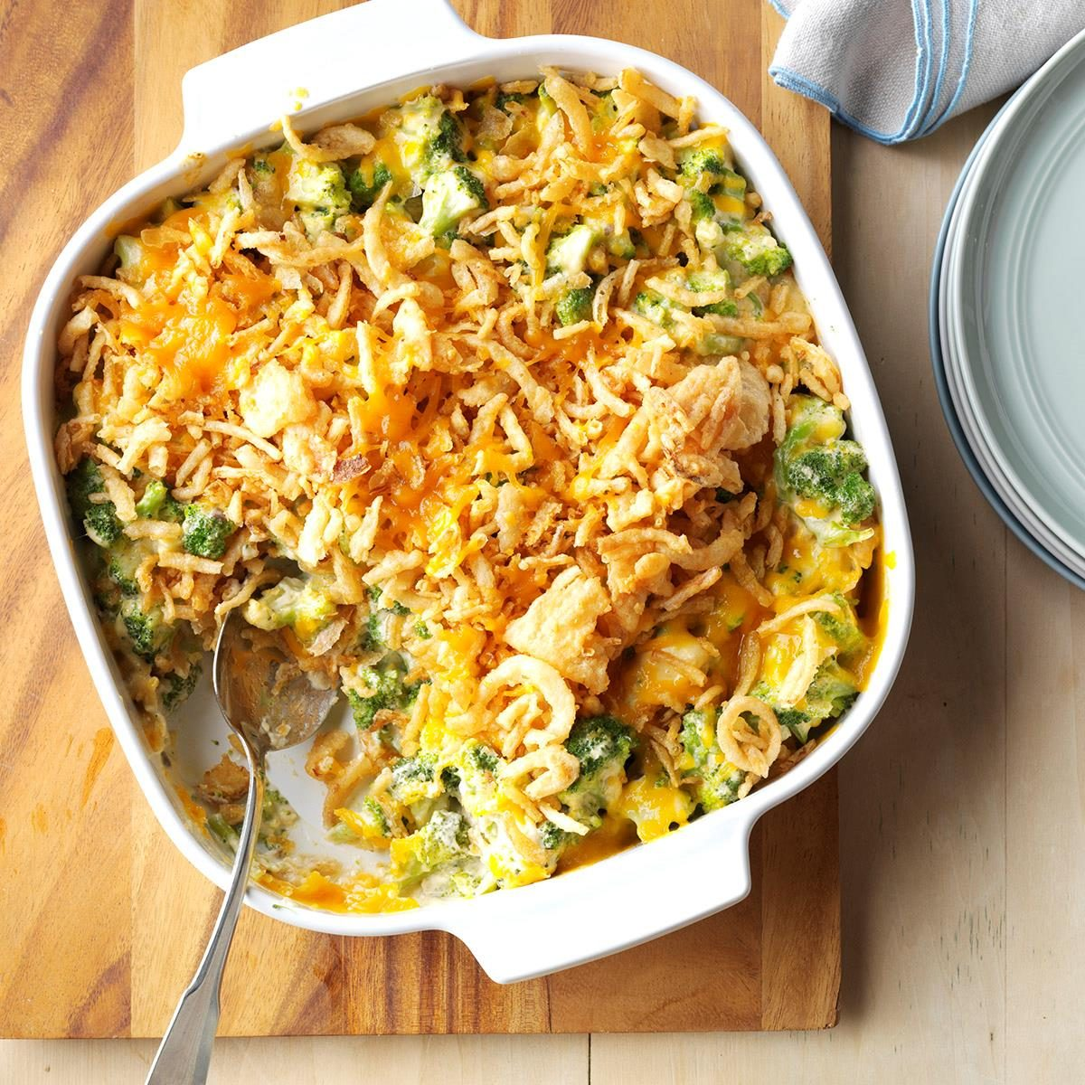 Broccoli And Cauliflower Casserole With Chicken