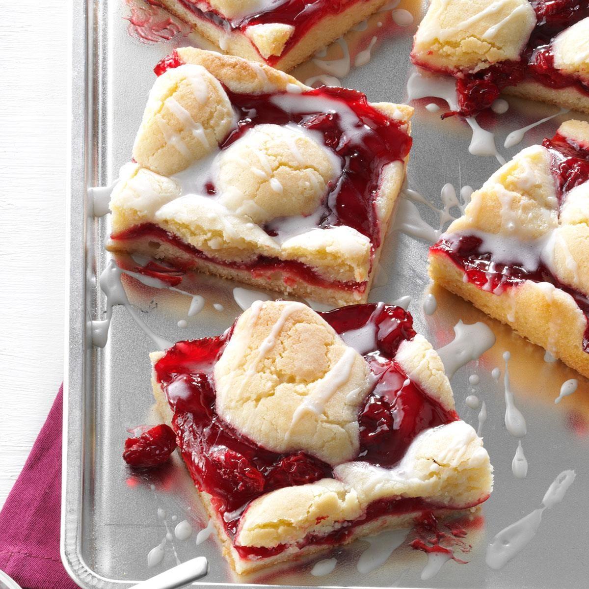 Cherry Bars Recipe Taste Of Home