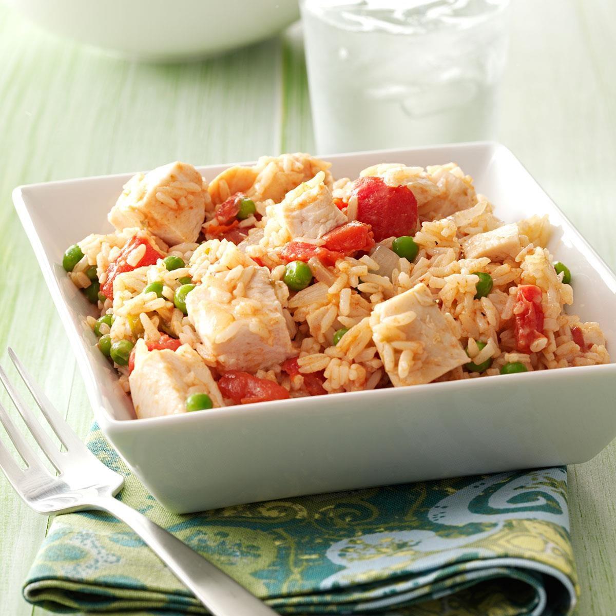 Chicken & Rice Skillet Recipe