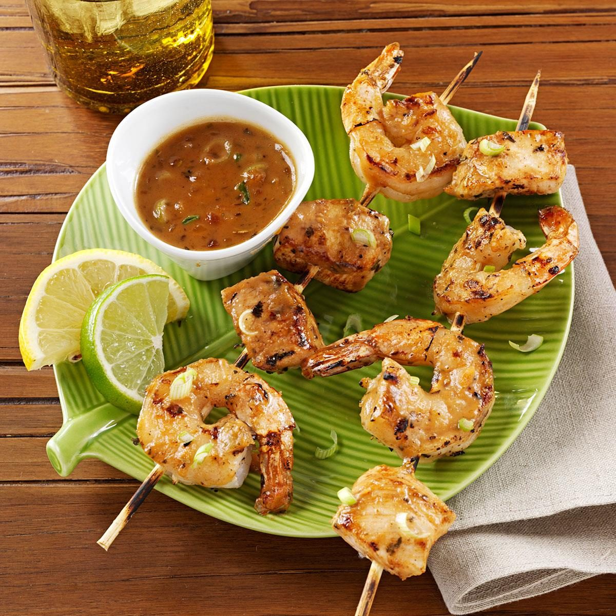 Chicken And Shrimp Satay Recipe Taste Of Home
