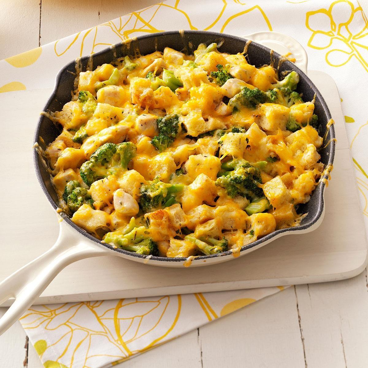 chicken cheese strata recipe taste of home