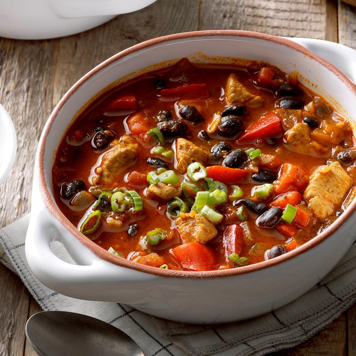 Chicken Chili With Black Beans Recipe