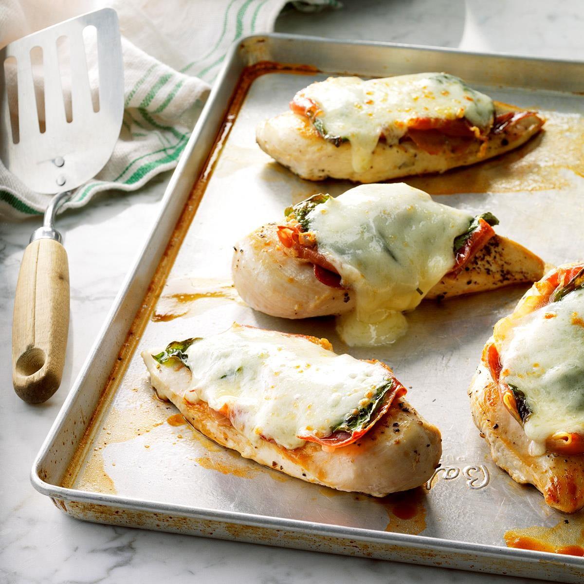Chicken Provolone Recipe
