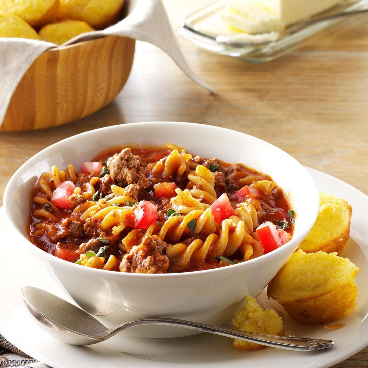 Chili Beef Pasta Recipe