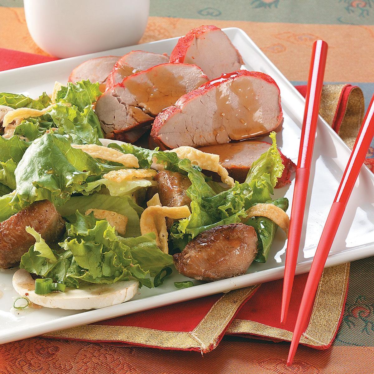 Chinese-Style Pork Tenderloin Recipe