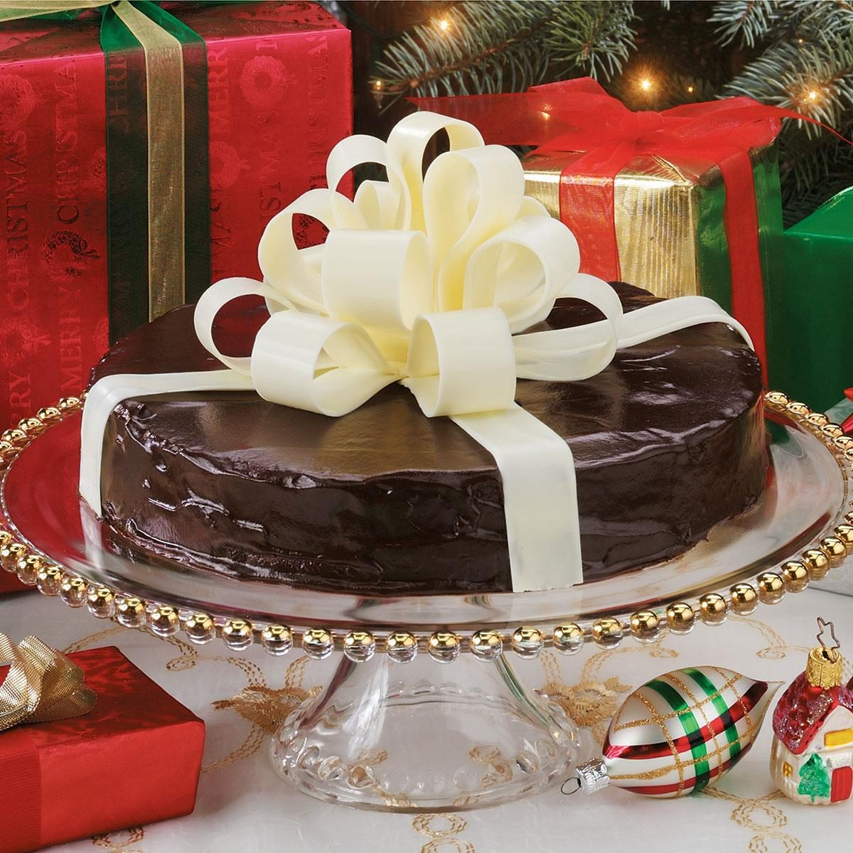 How To Make A Christmas Party Fun: Chocolate Bow Recipe