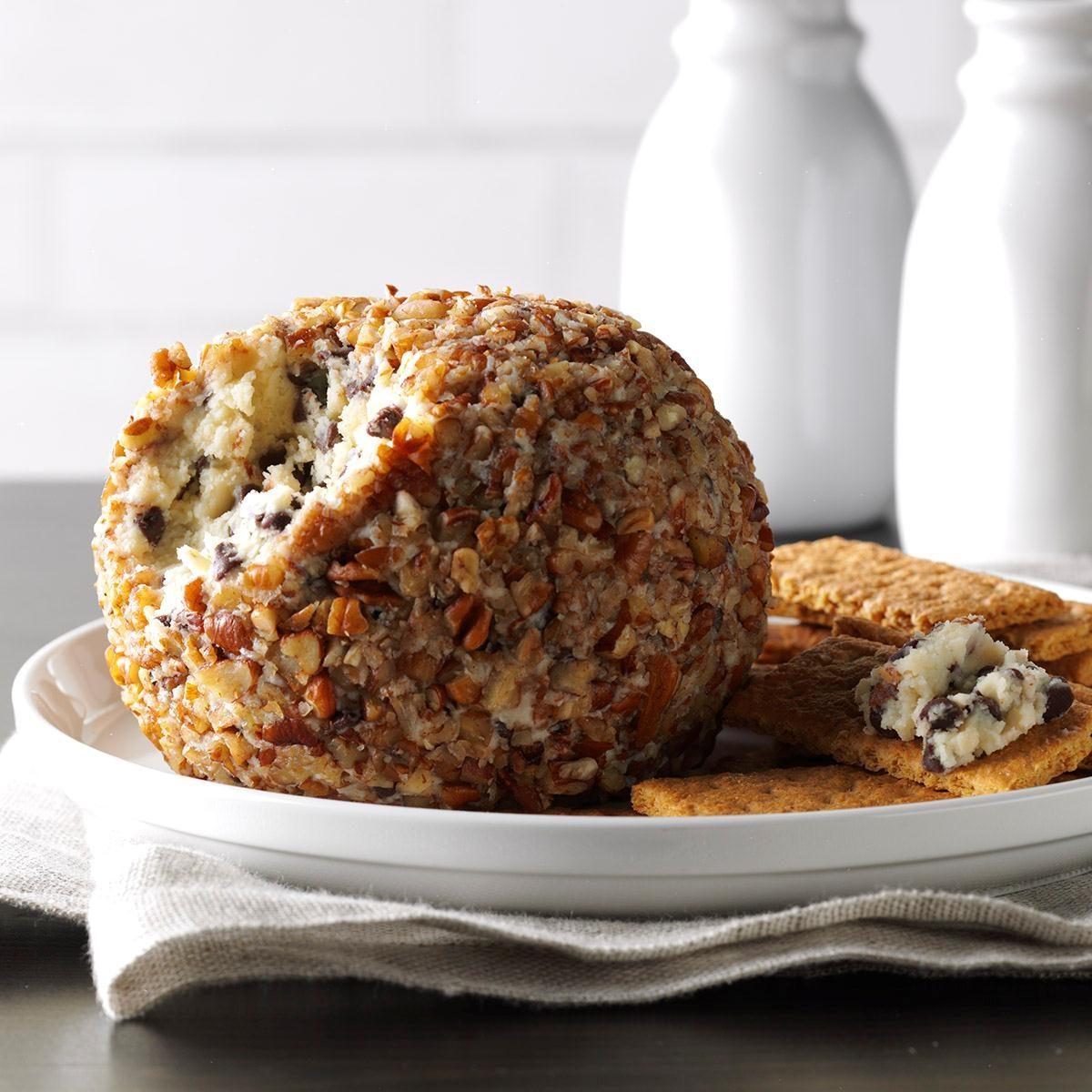 Chocolate Chip Cheese Ball Recipe | Taste of Home