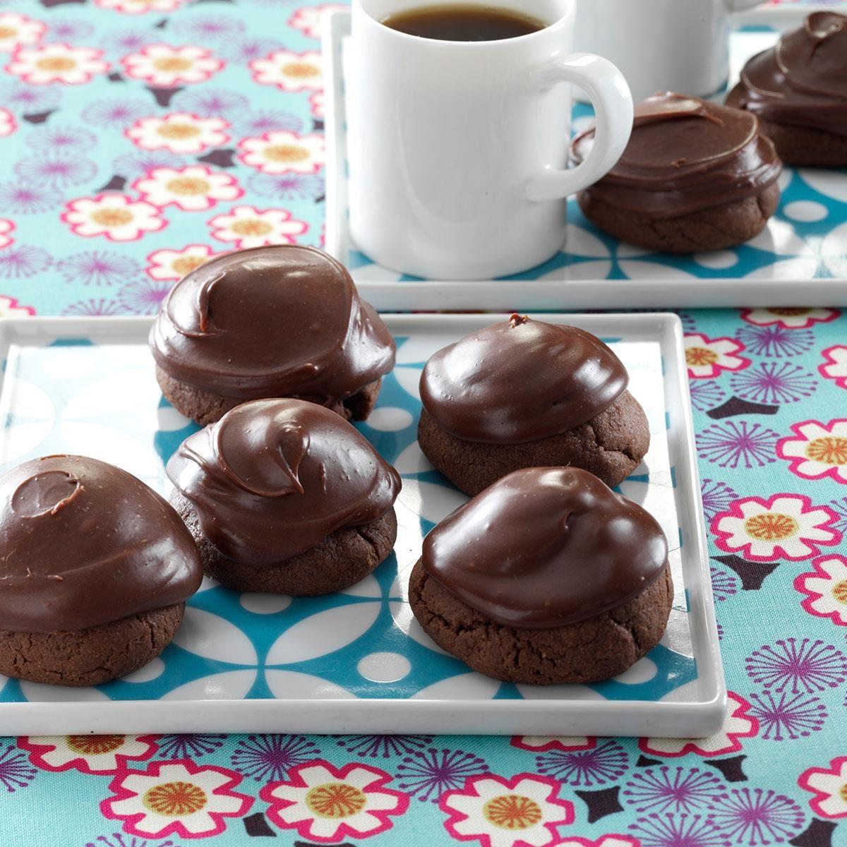 Buried Cherry Chocolate Cookie Recipe