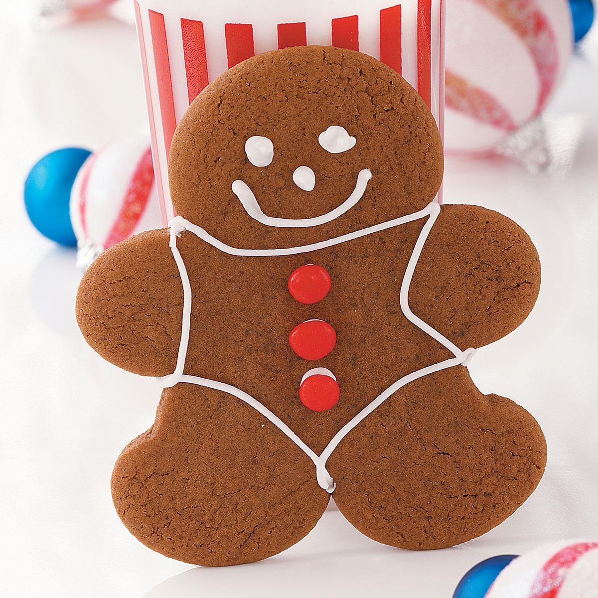 Chocolate Gingerbread Cookies Recipe | Taste of Home