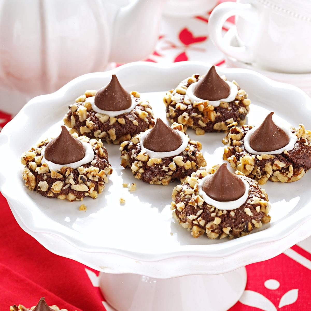 Chocolate Thumbprints Cookies Recipe