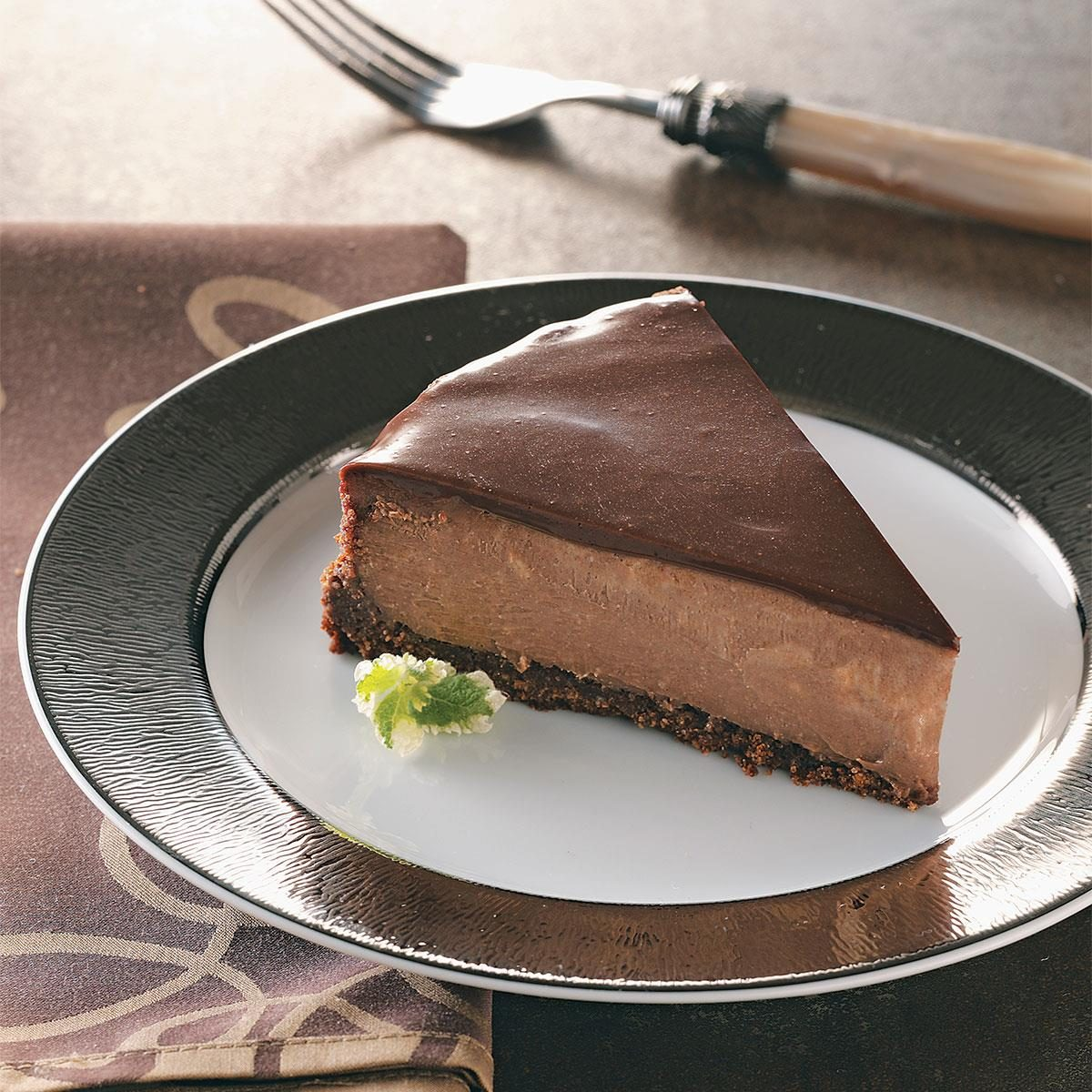 Chocolate Truffle Cheesecake Taste Of Home