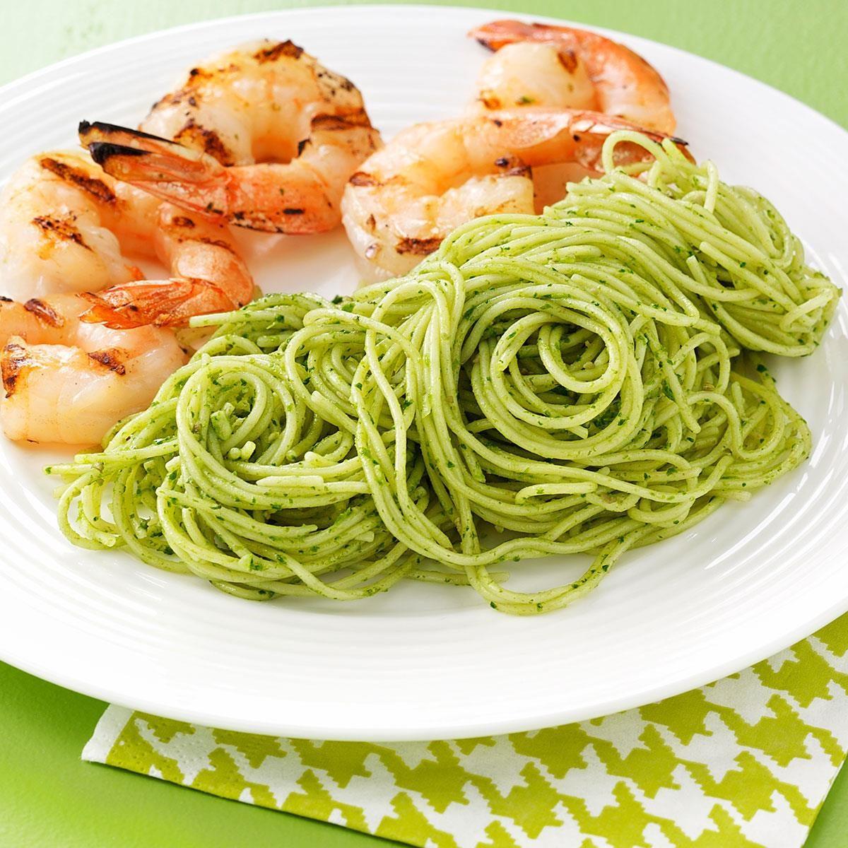 Cilantro-Pepita Pesto Recipe | Taste of Home