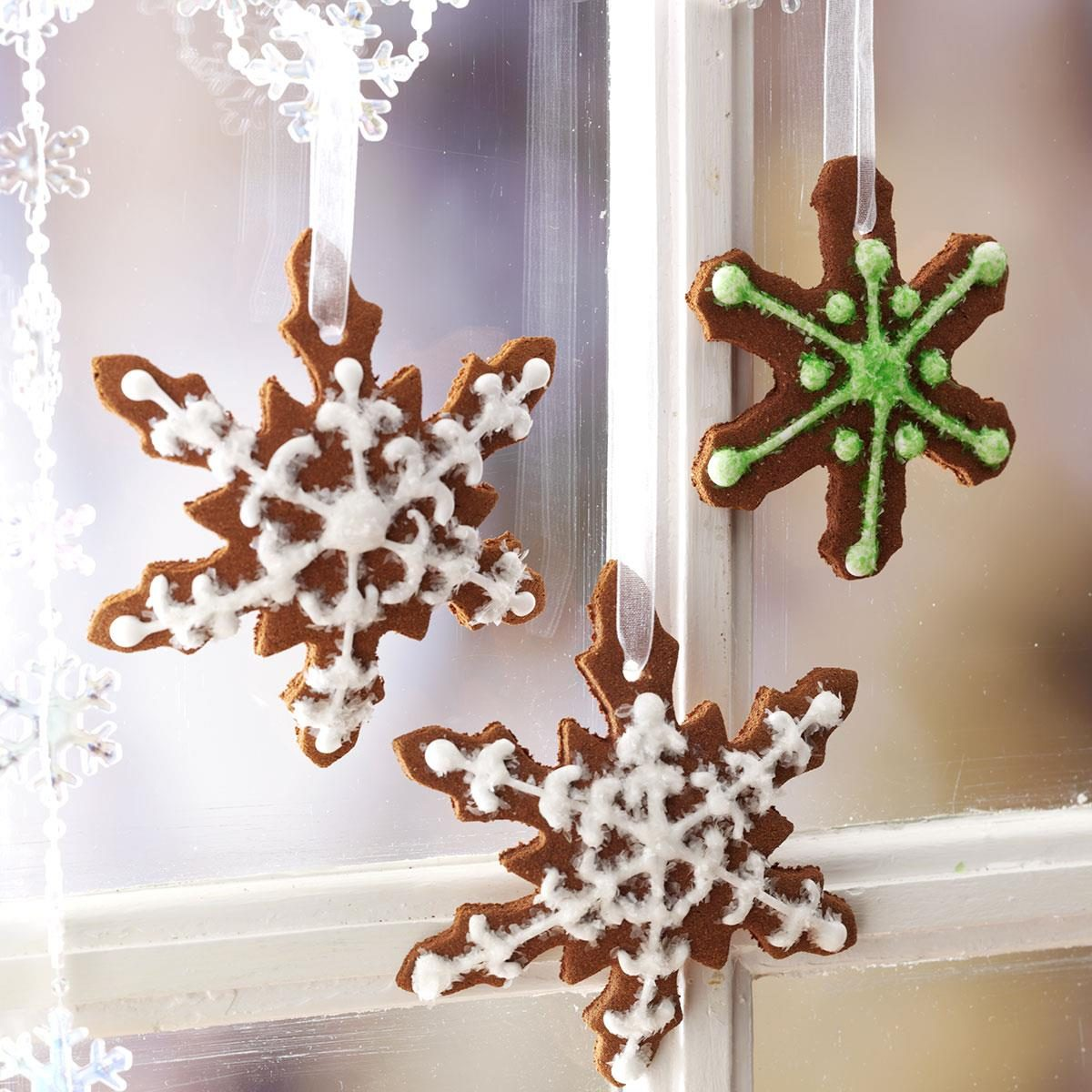 Christmas snowflake ornaments - Christmas Snowflake Ornaments 30