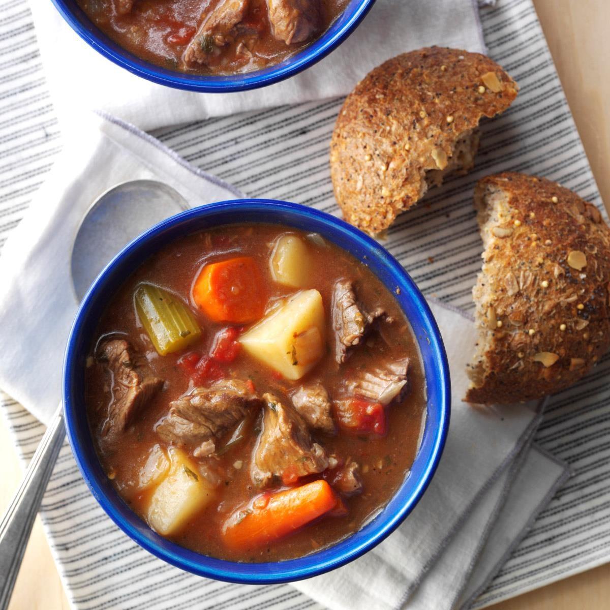 Classic Beef Stew Recipe | Taste of Home
