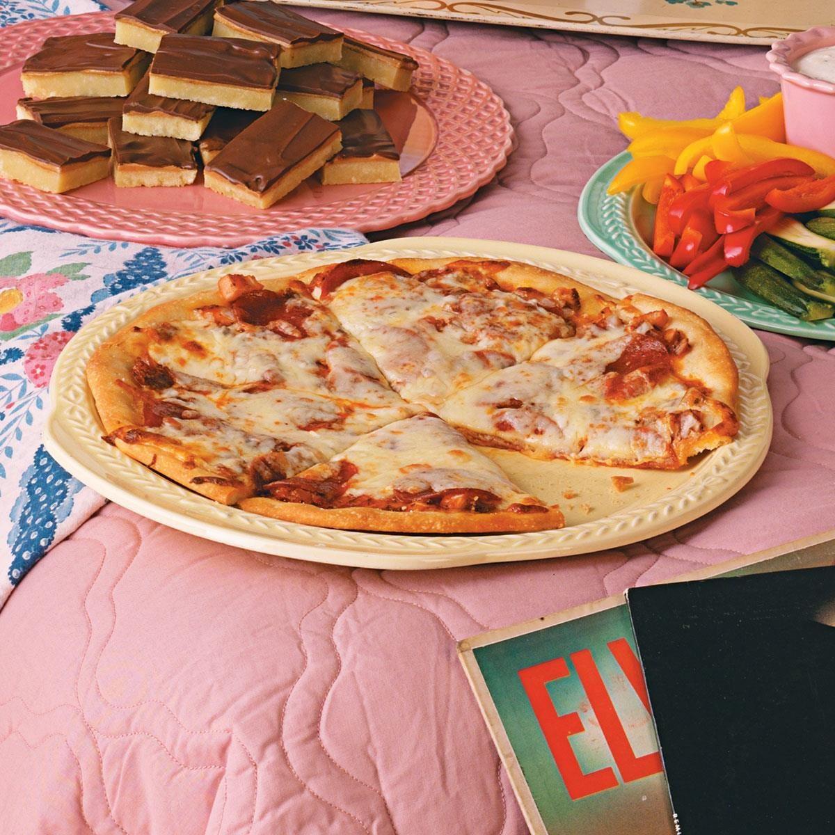 Classic Pepperoni Pizza Recipe | Taste of Home