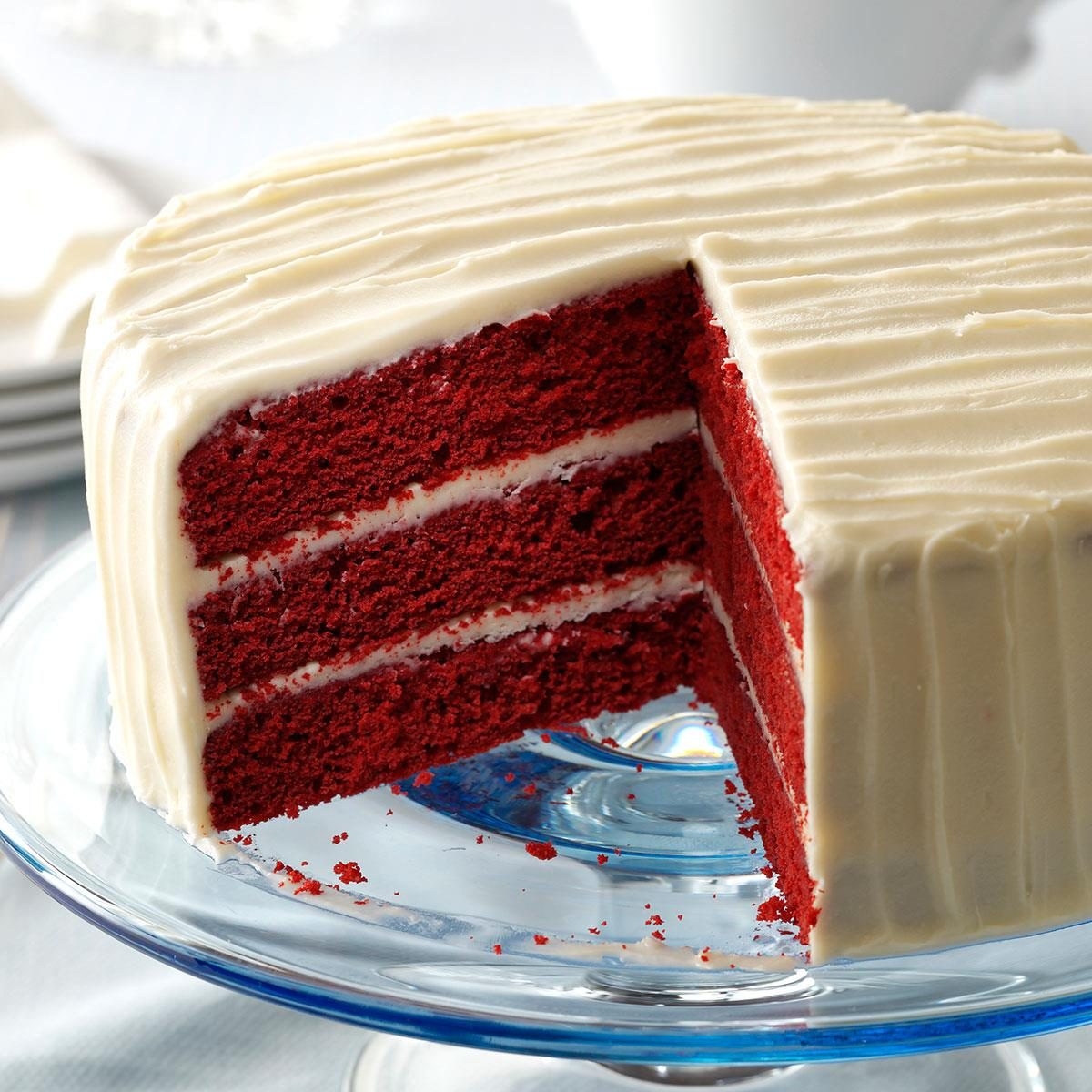Red velvet cake for Easy red velvet cake recipe uk