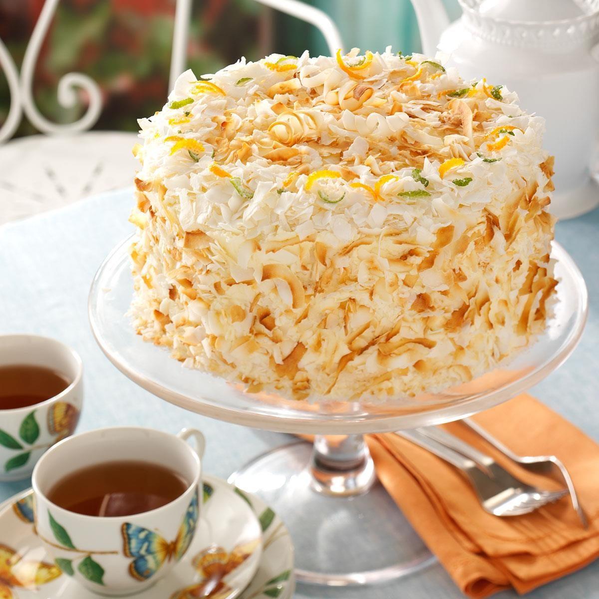 Chiffon Wedding Cake Recipe