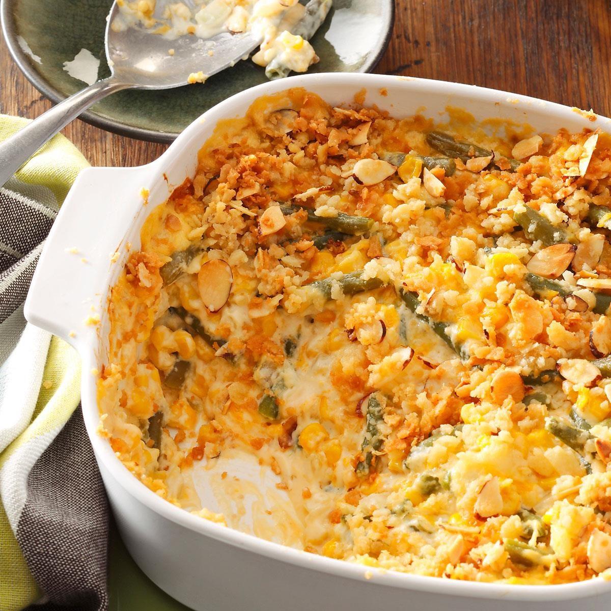 Company Vegetable Casserole Recipe Taste Of Home