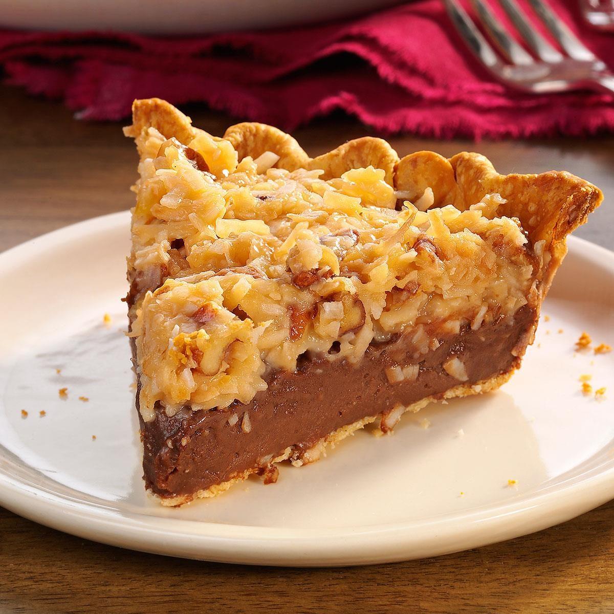 German Chocolate Pie Recipe Paula Deen