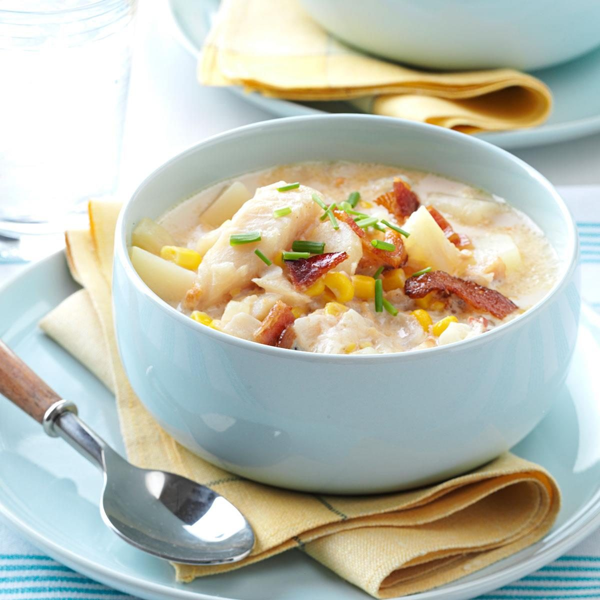 Easy fish chowder evaporated milk for New england fish chowder