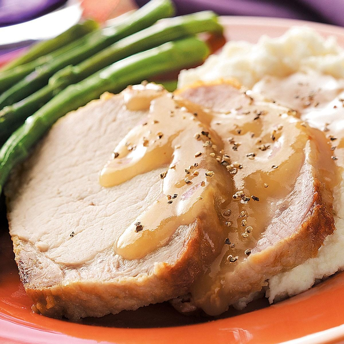Country Style Pork Loin With Gravy