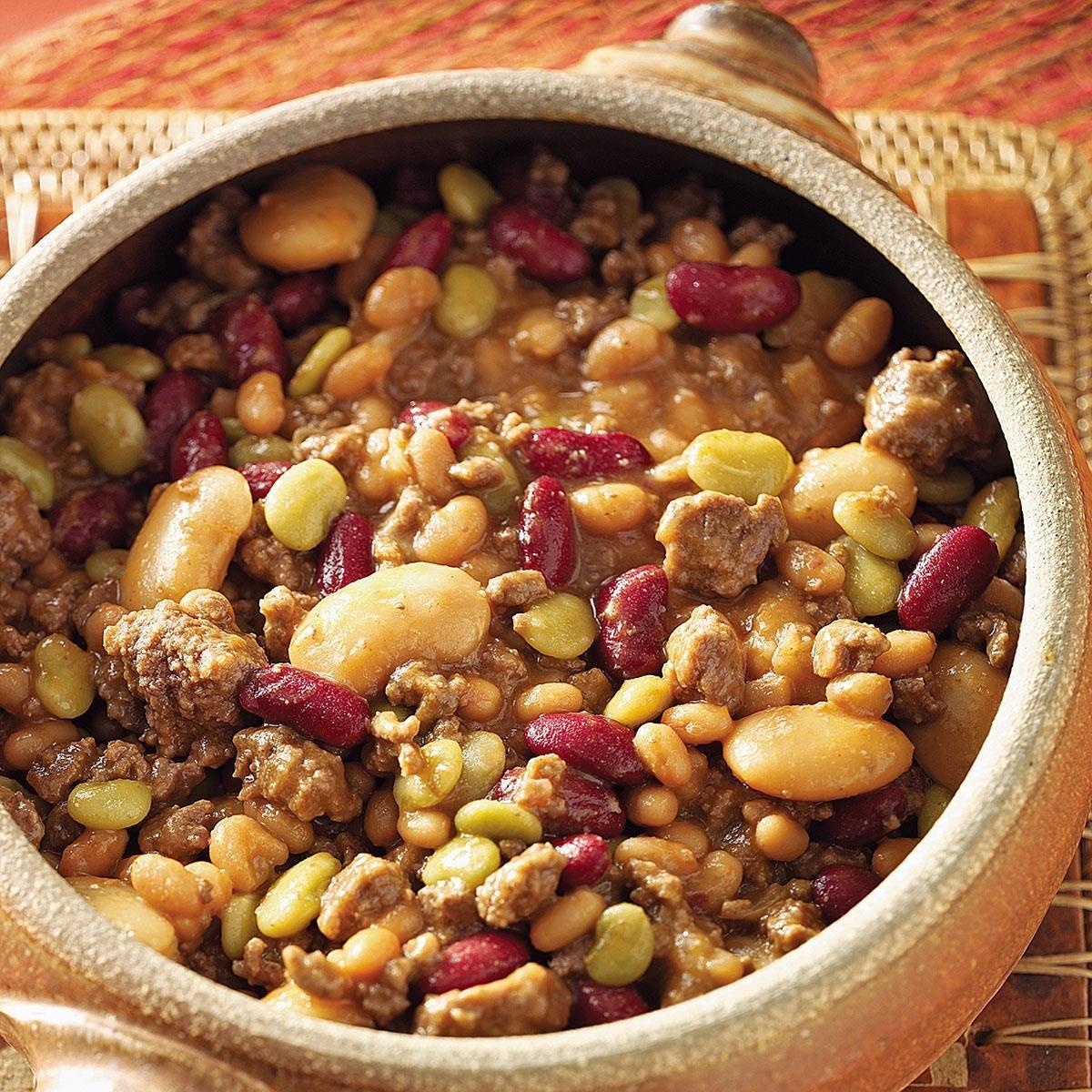 Cowboy Calico Beans Recipe Taste Of Home