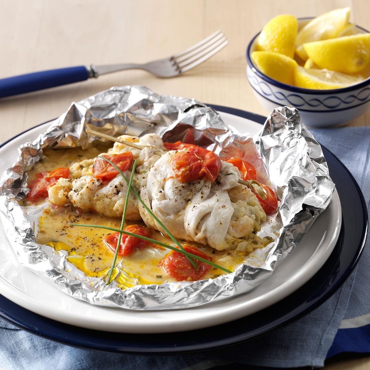 Crab Amp Shrimp Stuffed Sole Recipe Taste Of Home
