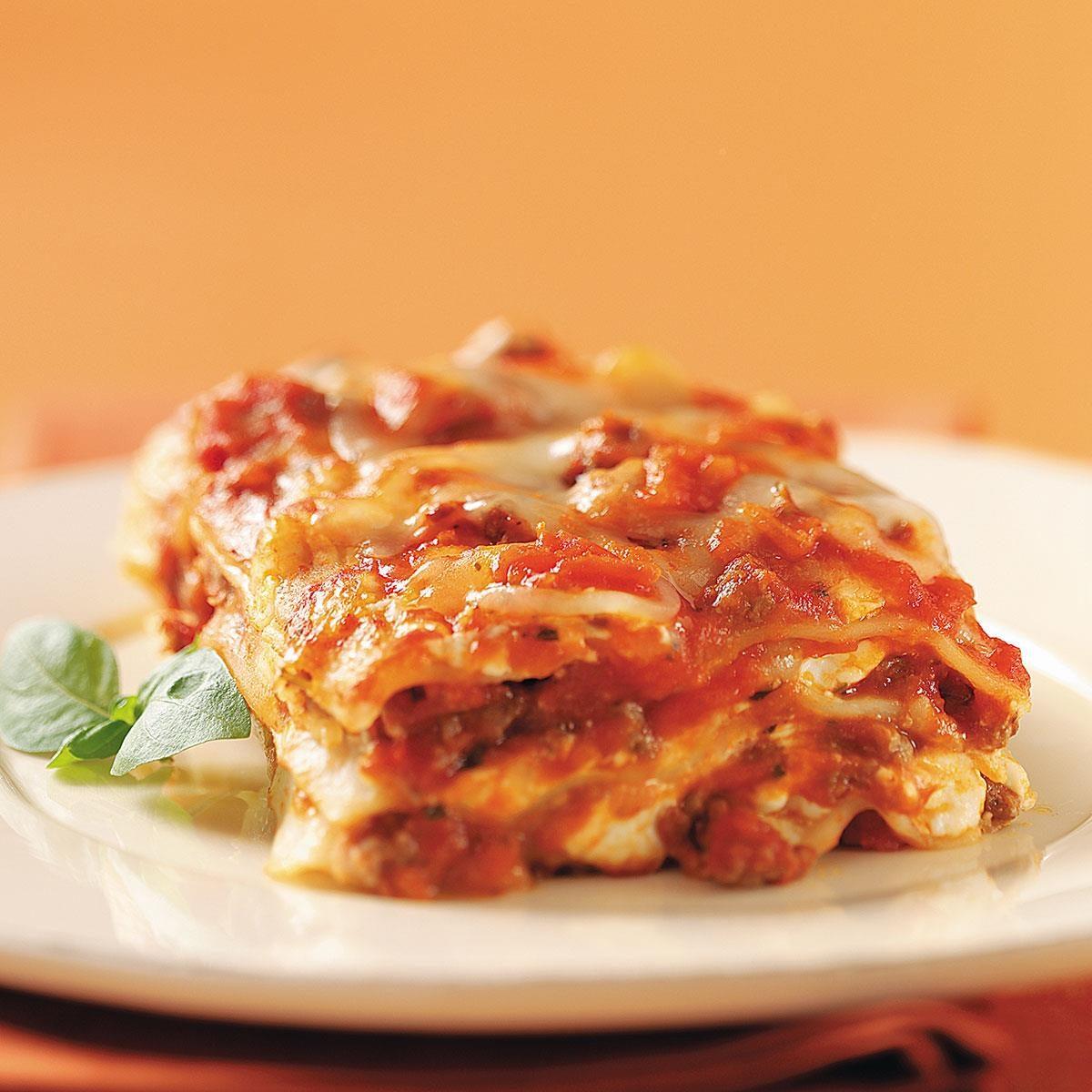 cream cheese in lasagna