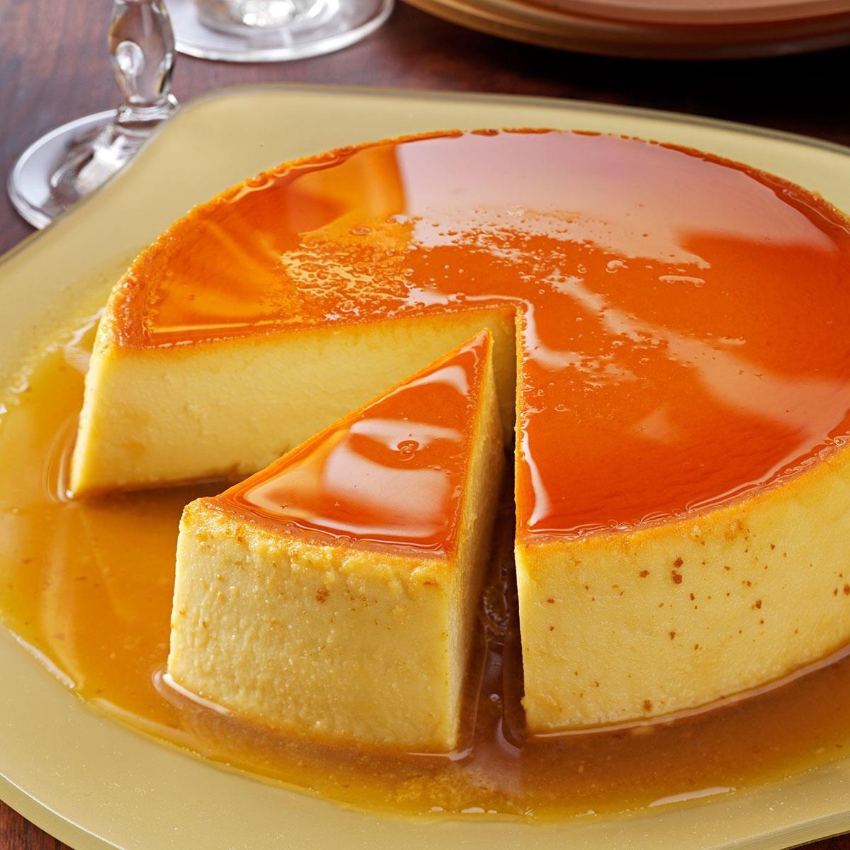 Creamy Caramel Flan Recipe | Taste of Home